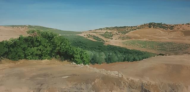 Carmen chofre García, 'Higuera y Olivar / Spanish Landscape', 2018, PontArte