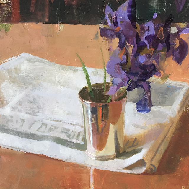 , 'Irises Revisited,' 2017, Somerville Manning Gallery