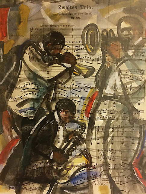 , 'Zweite's Trio,' , The South Street Gallery
