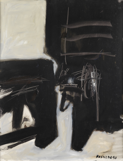 , 'Composition 90-21,' 1990, Whitford Fine Art