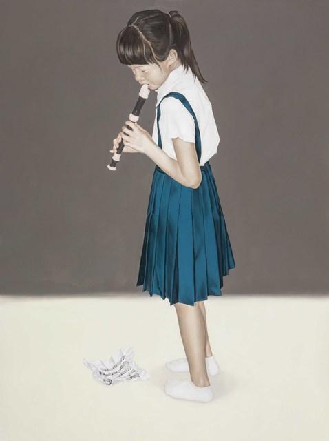 , 'Recorder Practice V,' 2014, Aki Gallery