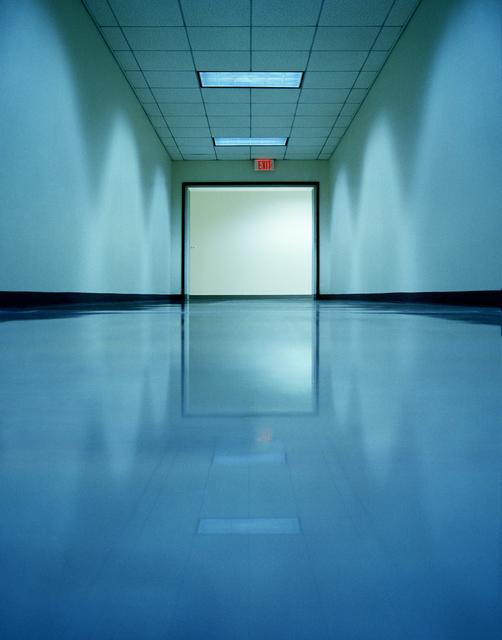 , 'Blue Hall,' 2009, Joseph Nease Gallery