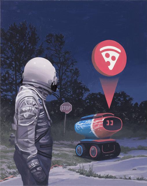 , 'Pizzabot,' 2018, Spoke Art