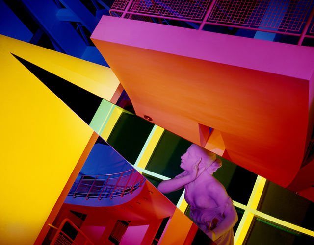 Barbara Kasten, 'Architectural Site 17, High Museum of Art, Atlanta, GA, August 29', 1988, Kadel Willborn