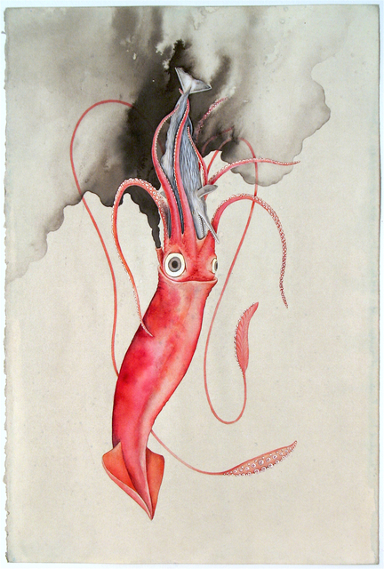 , 'The Squid and the Whale,' 2017, G. Gibson Gallery