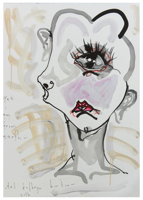 Del Kathryn Barton, 'yes i am from earth ', 2016, A3 Arndt Art Agency
