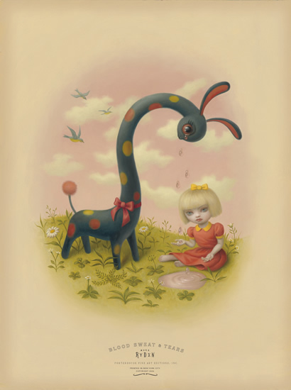 Mark Ryden, 'Tears', ca. 2004, Print, Giclee on Archival Cotton Rag Paper with Deckled Edges, Dorothy Circus Gallery