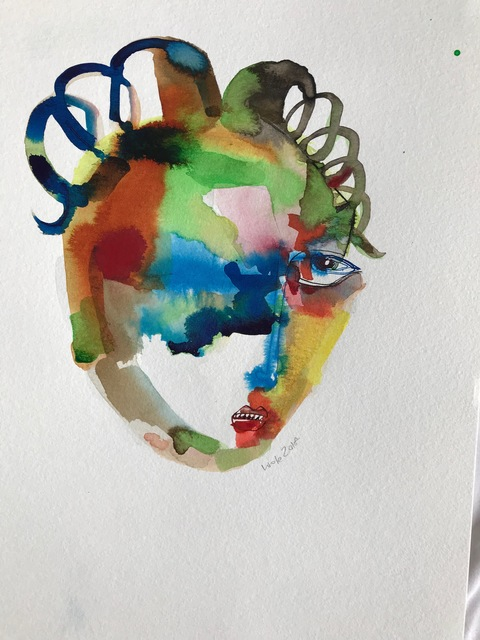 Wole Lagunju, 'Soon', 2017, Ed Cross Fine Art