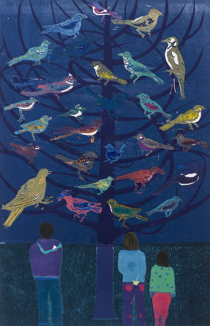 Tom Hammick, 'Tree Life', 2010, Print, Edition variable reduction woodcut printed in colours., Lyndsey Ingram