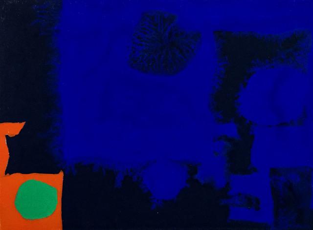 , 'Indigo, Ultramarine, Orange and Emerald,' 1970, Rumi Galleries