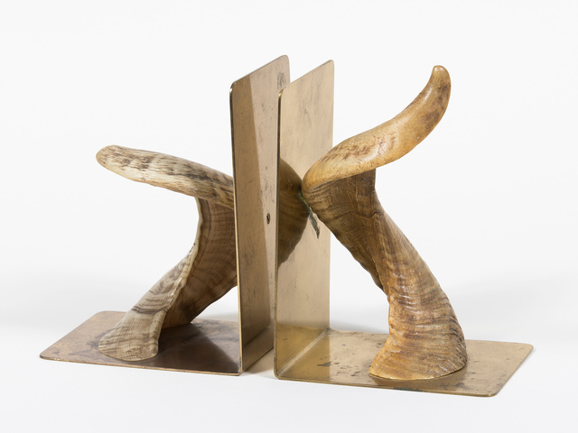 Carl Auböck, 'Horn Bookends', ca. 1950s, Patrick Parrish Gallery