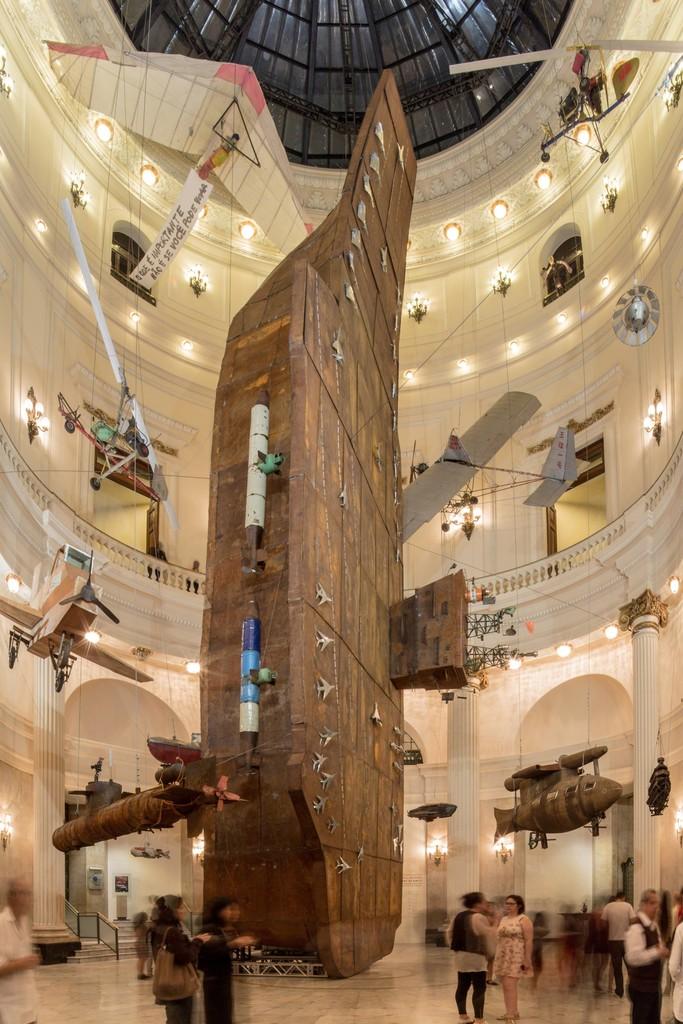 Cai Guo-Qiang, 'Installation view of Cai Guo-Qiang: Da Vincis do Povo, Centro Cultural Banco do Brasil, Rio de Janeiro,' 2013, Cai Studio