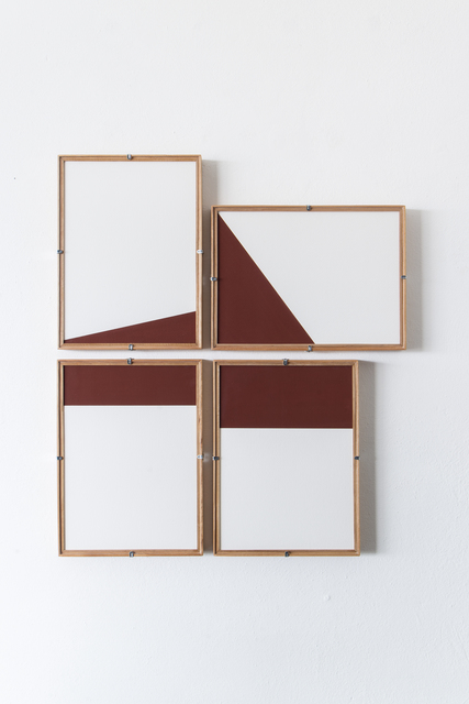 , 'Red Composition No.13,' 2017, Casa Triângulo