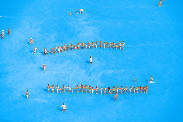 , 'Adriatic Sea (Staged) Dancing People 15,' 2015, Yancey Richardson Gallery