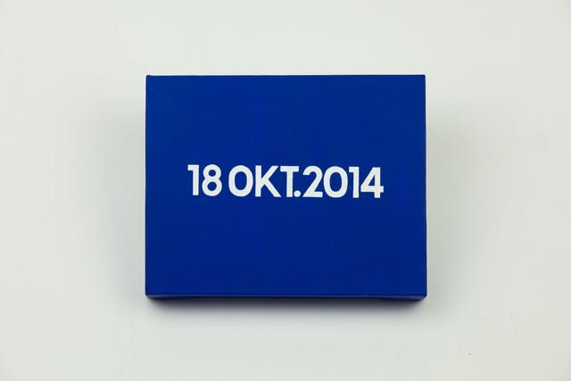 , 'On Kawara, Today Series, 18DEC.2014,' 2014, MadeIn Gallery