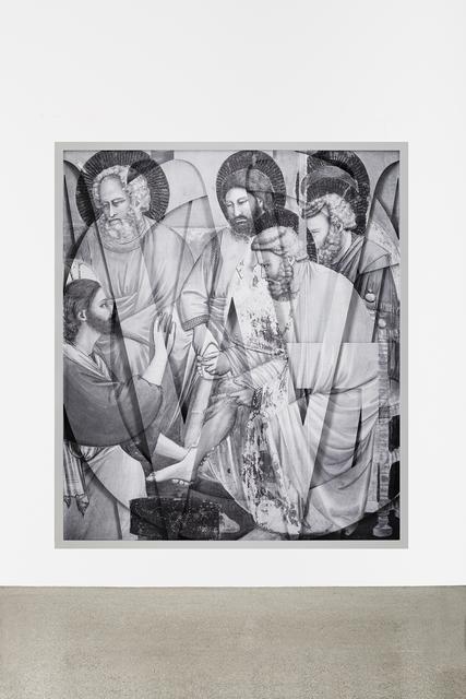 , 'GIOTTO.1.W-G-W,' 2013, Georg Kargl Fine Arts