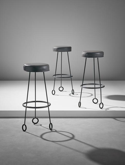 Terrific Jean Royere Set Of Three Yo Yo Stools Ca 1955 Artsy Forskolin Free Trial Chair Design Images Forskolin Free Trialorg