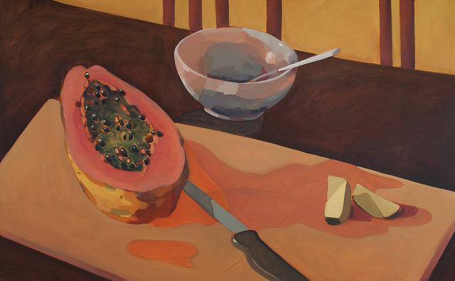 , 'Cut Fruit and Bowl,' 2017, Serving The People