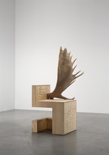 , 'Stag Chair Right (Natural Plywood),' 2007, Carpenters Workshop Gallery