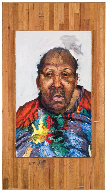 , 'I'm Pressing On,' 2008, Valley House Gallery & Sculpture Garden