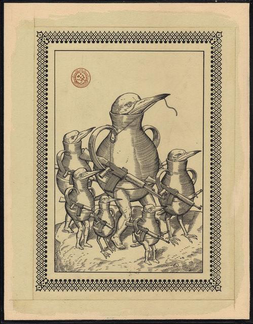 , '1 Goose 5 Ducks,' 2017, Black Book Gallery