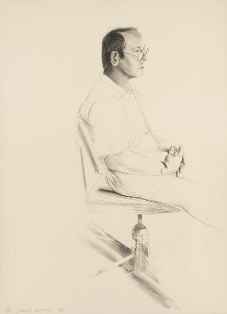 David Hockney, 'Mo Mcdermott (Tokyo 167)', 1976, Forum Auctions