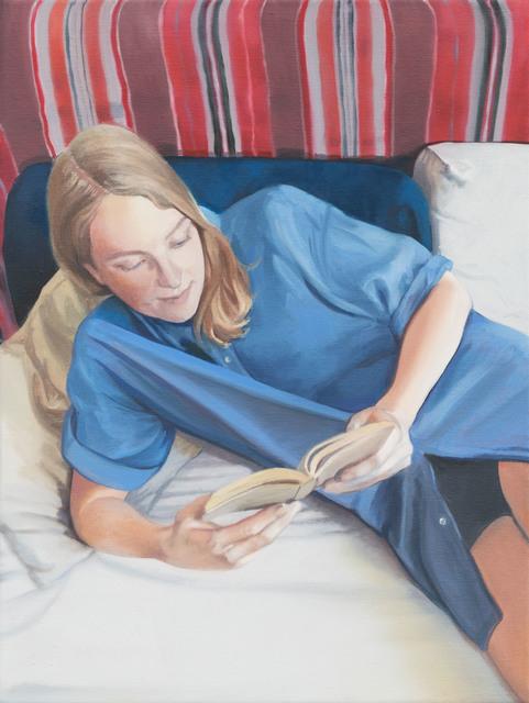 , 'Das blaue Hemd,' 2018, Galerie Kleindienst