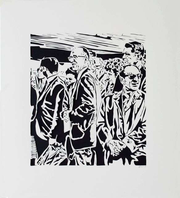 , 'Crowd II, 1971,' 2015, Marion Gallery