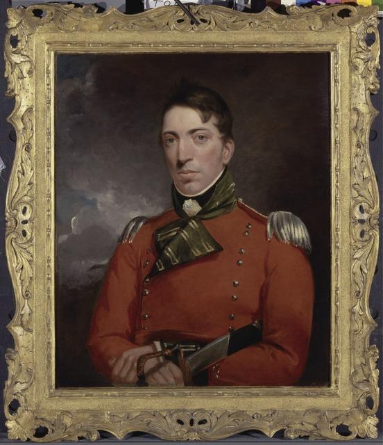 John Constable, 'Captain Richard Gubbins', 1804-05, Yale Center for British Art