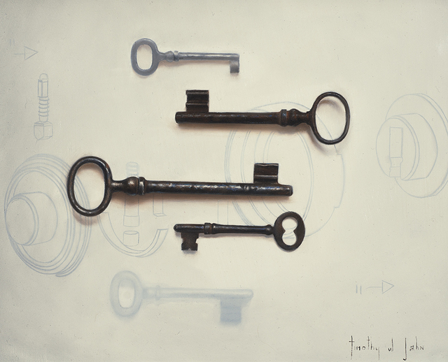 , 'Not All Keys Fit,' 2014, Rehs Contemporary Galleries