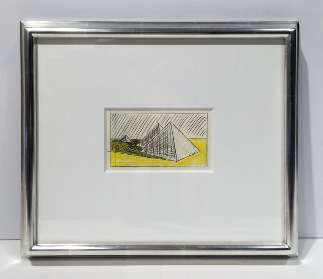 , 'Pyramids (Study),' 1968, Jonathan Novak Contemporary Art