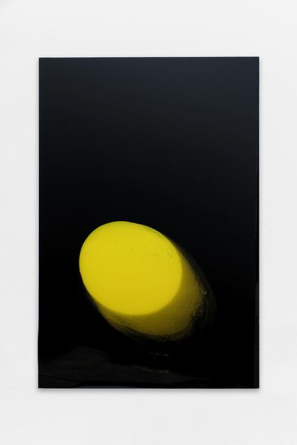 , 'En Masse (yellow moon falling),' 2017, Galerie Allen
