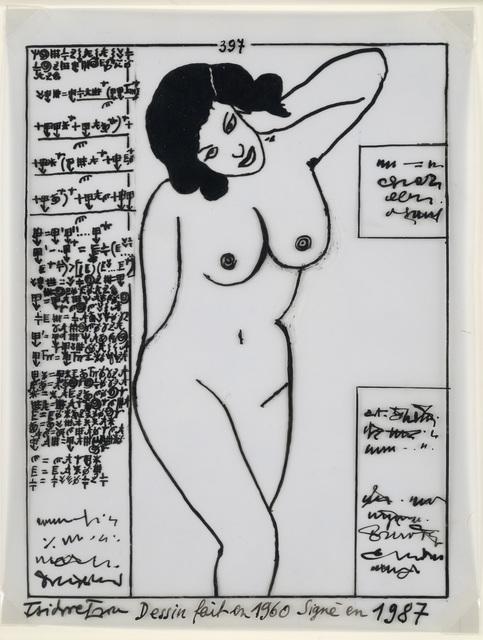 Isidore Isou, '397', 1960, Galerie Natalie Seroussi