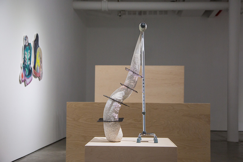 Installation view of the exhibition DETACHING (PARENTHESIS)