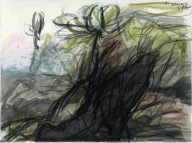 , 'Lotus Diary III,' 2017, Galerie du Monde
