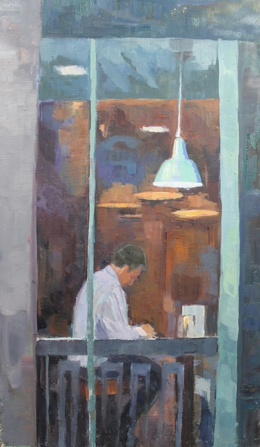 , 'Solitary Study,' , Castlegate House Gallery