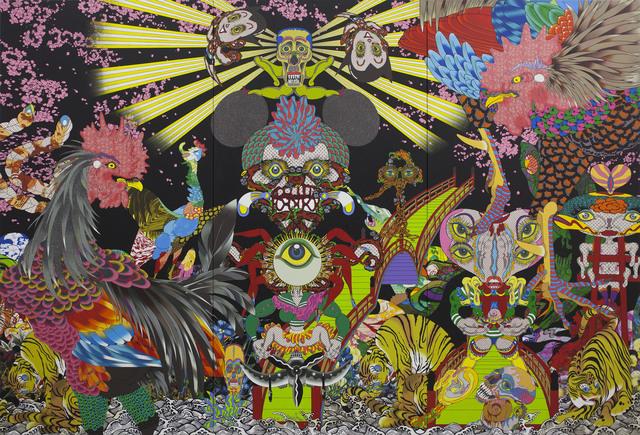 Keiichi Tanaami, 'Vision in the Womb', 2015, Sikkema Jenkins & Co.