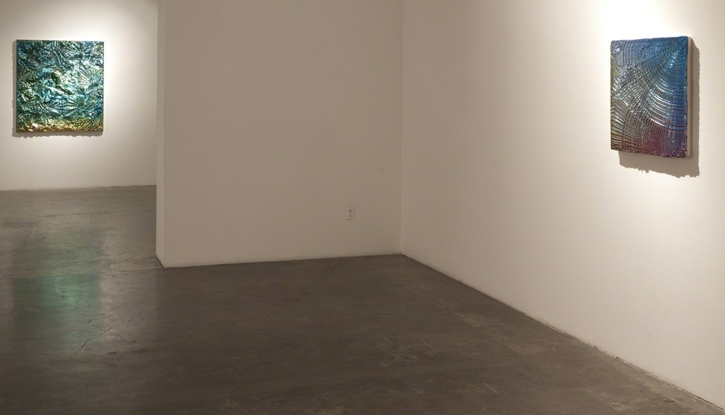 "Installation view of Jimi Gleason, ""Favrile,"" at Samuel Freeman, March 2011."