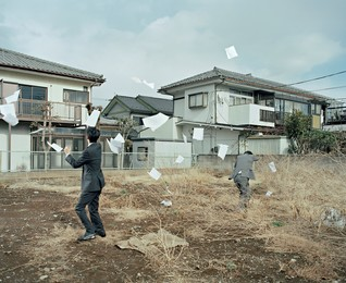 Max Pinckers, 'A Sudden Gust of Wind (after Jeff Wall and Hokusai),' 2015, Japan Society Benefit Auction 2016