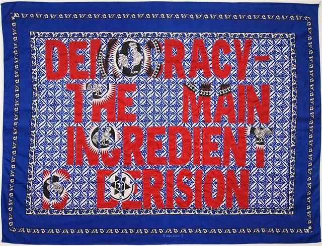 , 'Democracy - the main ingredient is derision,' 2016, Afronova