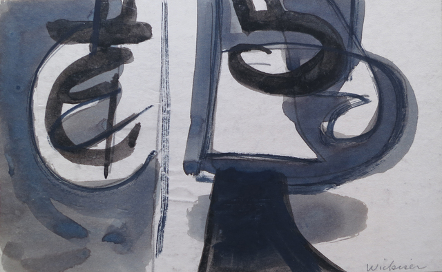 , 'On Edge ,' 1950, Walter Wickiser Gallery