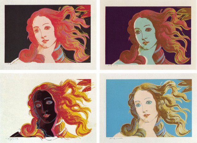 Andy Warhol, 'Details of Renaissance Paintings (Sandro Botticelli, Birth of Venus, 1482)', 1984, Coskun Fine Art