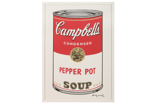 Andy Warhol, 'Campbell's Soup - Pepper Pot', Chiswick Auctions