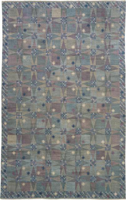 Märta Måås-Fjetterström, 'Swedish Pile Rug (Star Carpet),' ca. 1950, Hostler Burrows