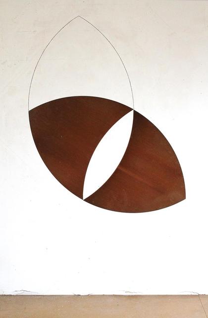 , 'vesica piscis,' 2013, Edition & Galerie Hoffmann