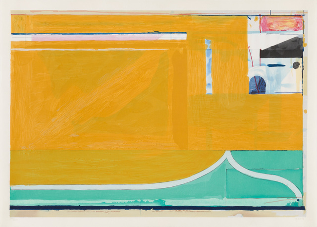 , 'Ochre,' 1983, Christopher-Clark Fine Art