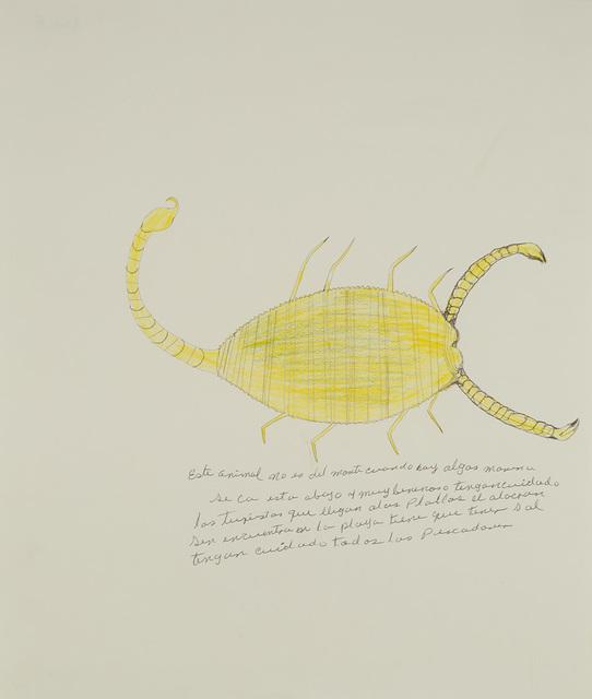 , 'Untitled (El alacran),' ca. 1990, Cavin Morris Gallery