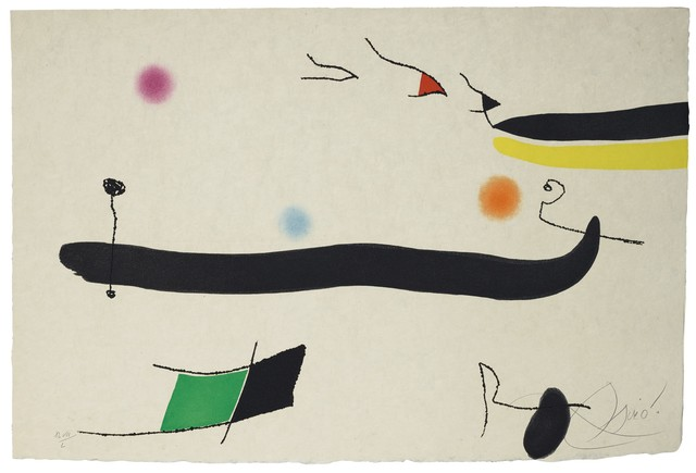 Joan Miró, 'Le Marteau sans maître: one plate (Dupin 945)', 1976, Sims Reed Gallery