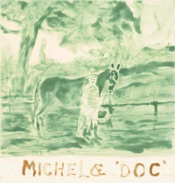 William T. Wiley, 'Michel & Doc Go Green', 2006, Crown Point Press