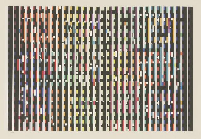 Yaacov Agam, 'Midnight Light', 1980, Sworders
